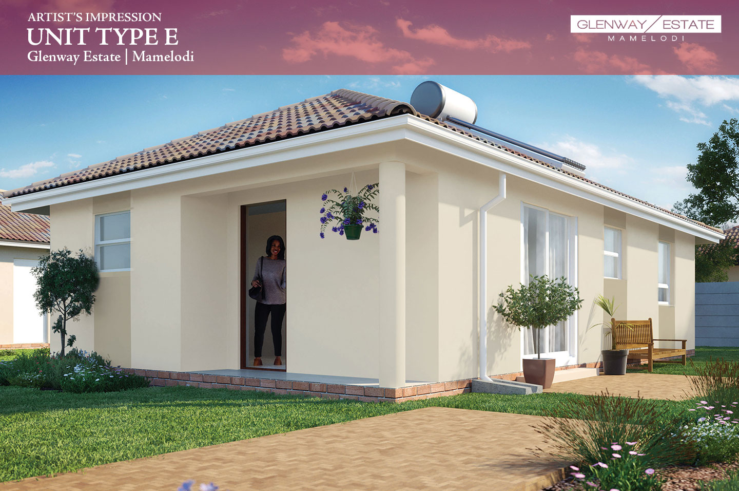 glenway-estate-affordable-homes-pretoria-unit-render